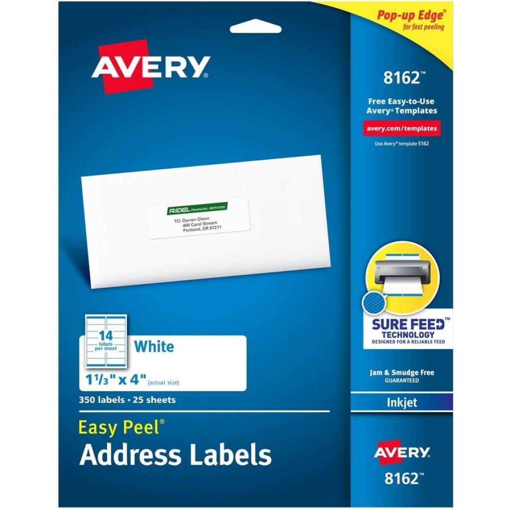 007 Remarkable Free Avery Addres Label Template For Mac Idea  5160Large