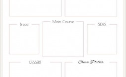 007 Remarkable Free Printable Menu Template Picture  For Dinner Party Family