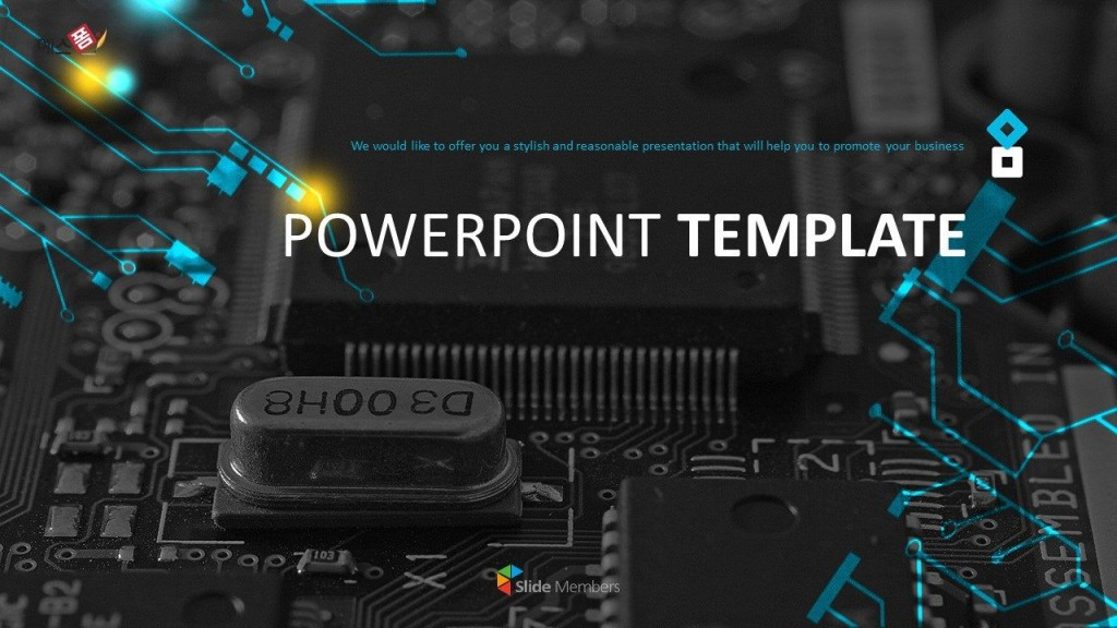 007 Remarkable Free Technology Powerpoint Template Picture  Templates Animated Information DownloadLarge