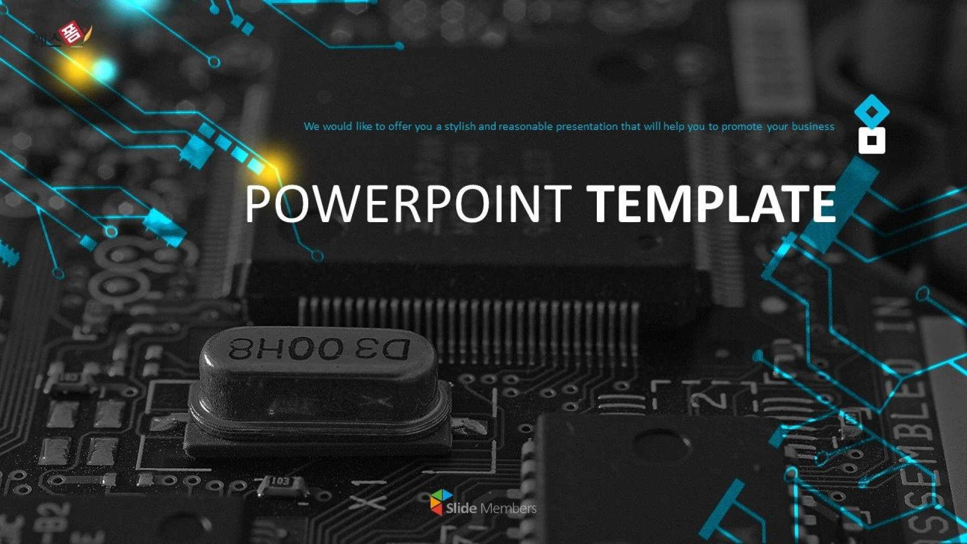 007 Remarkable Free Technology Powerpoint Template Picture  Templates Animated Information Download1920