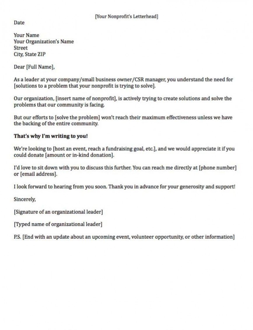 007 Remarkable Fund Raising Letter Template High Resolution  Templates Fundraising Free For Mission Trip Solicitation Sample