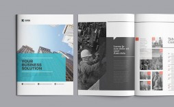 007 Remarkable Indesign A4 Brochure Template Free Download Highest Quality