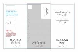 007 Remarkable Indesign Tri Fold Brochure Template Concept  Free Adobe 11x17