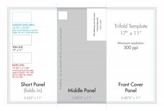 007 Remarkable Indesign Tri Fold Brochure Template Concept  Free Adobe 11x17320
