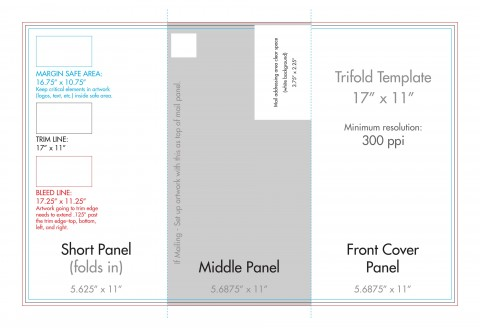 007 Remarkable Indesign Tri Fold Brochure Template Concept  Free Adobe 11x17480