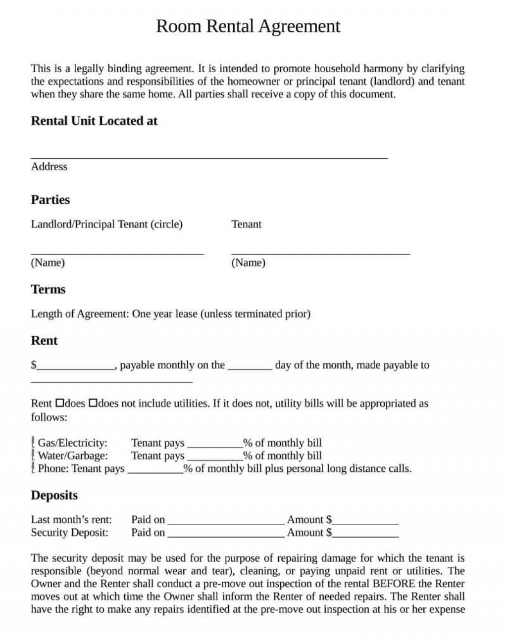 007 Remarkable Template House Rent Agreement Photo  Rental Word Doc IndiaLarge