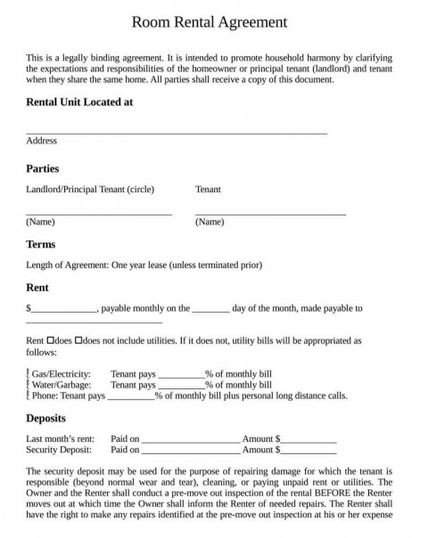 007 Remarkable Template House Rent Agreement Photo  Rental Word Doc India480