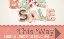 007 Remarkable Valentine Bake Sale Flyer Template Free High Def  Valentine'