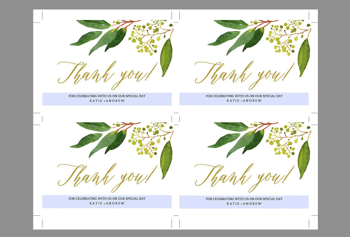 007 Remarkable Wedding Thank You Card Templates. Photo  Template Etsy Word PublisherFull