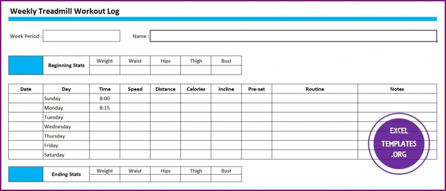 007 Remarkable Workout Schedule Template Excel Inspiration  Training Plan Log Download