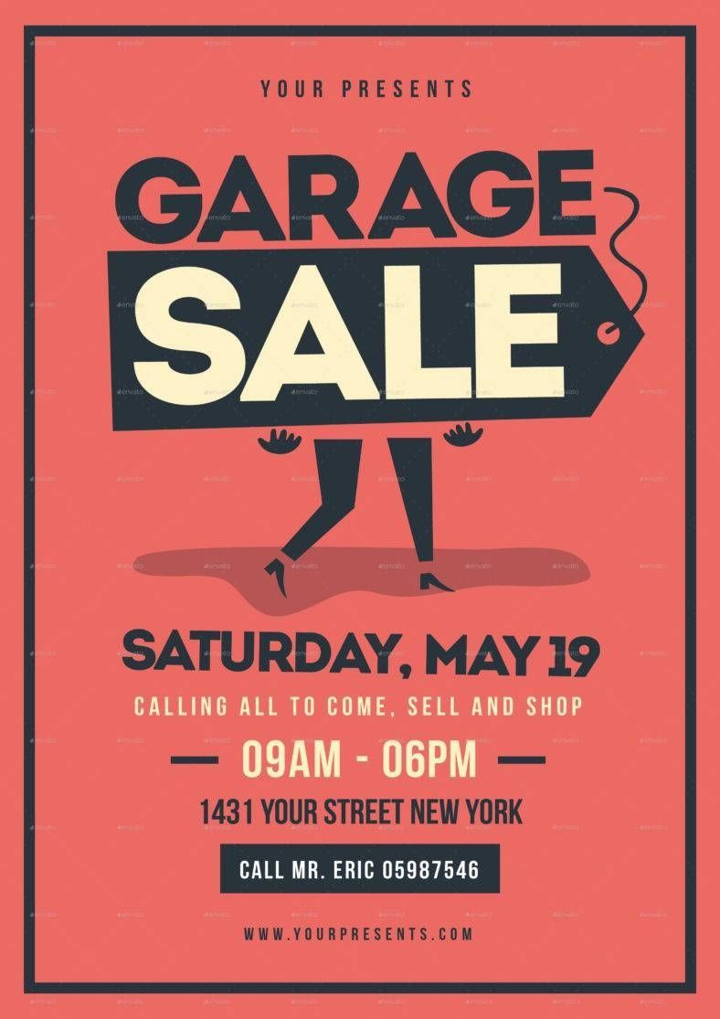007 Remarkable Yard Sale Flyer Template Free Highest Quality  Community GarageFull