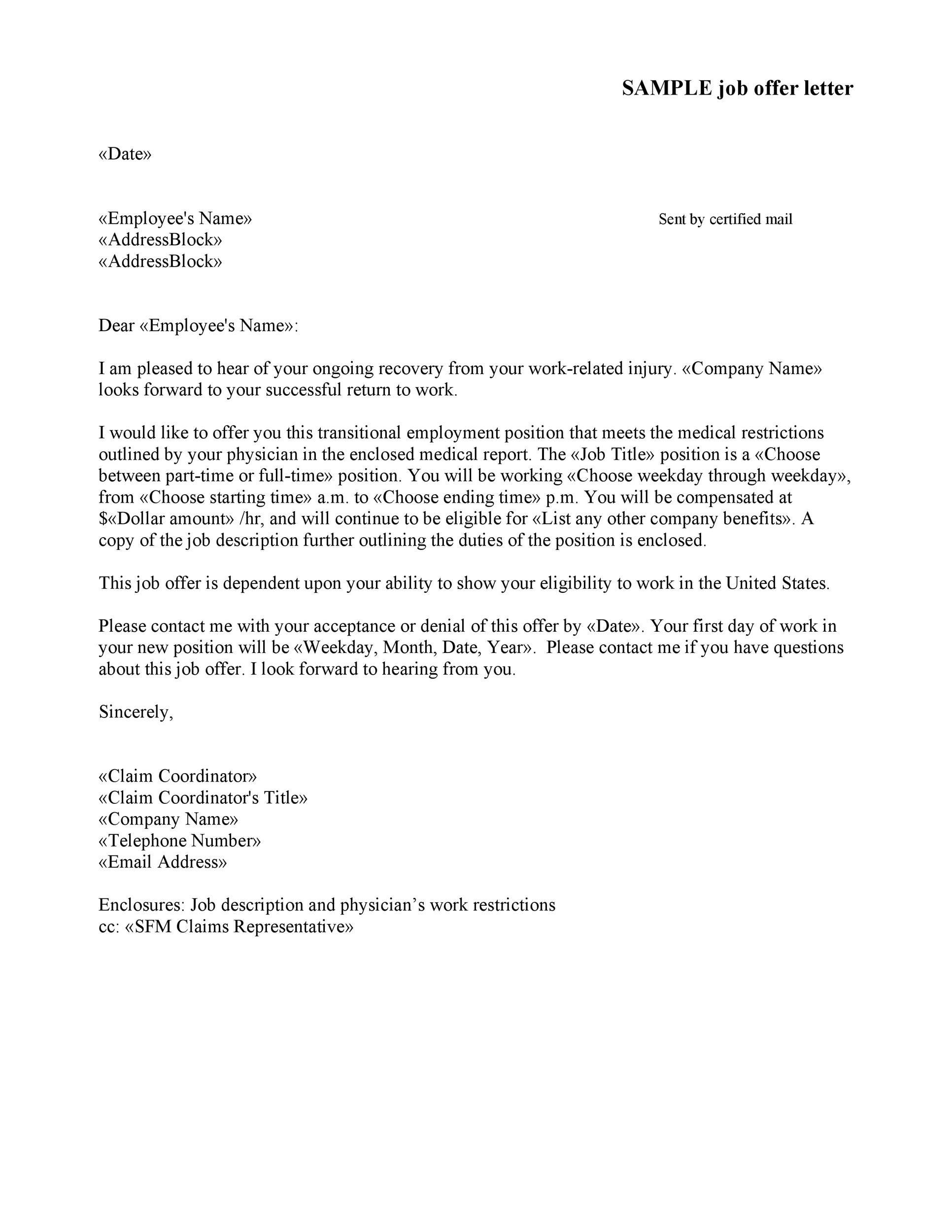 007 Sensational Counter Offer Letter Template Concept  Real Estate Settlement DebtFull
