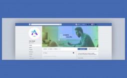 007 Sensational Facebook Cover Photo Photoshop Template Concept  2019 Page Profile Picture Size