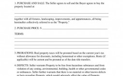 007 Sensational Free Home Purchase Contract Template Highest Quality