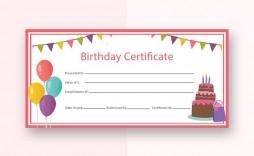 007 Sensational Free Printable Birthday Gift Voucher Template Highest Clarity