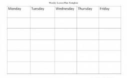 007 Sensational Free Printable Preschool Weekly Lesson Plan Template Picture  Kindergarten
