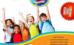 007 Sensational Free School Flyer Design Template Example  Templates Creative Education Poster