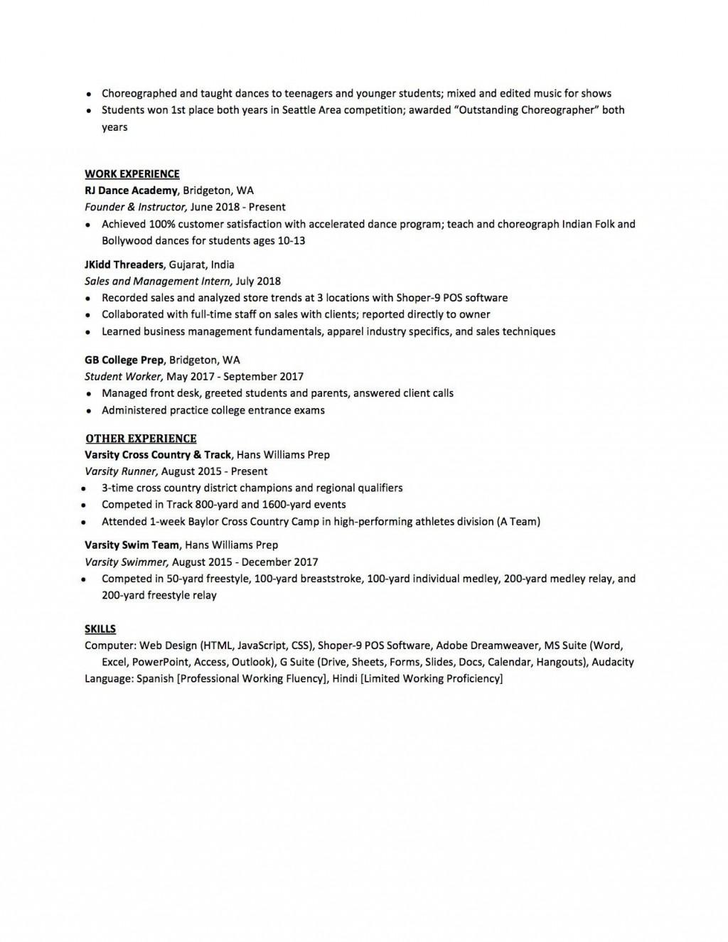 007 Sensational High School Student Resume Template Design  Free Microsoft Word 2010Large