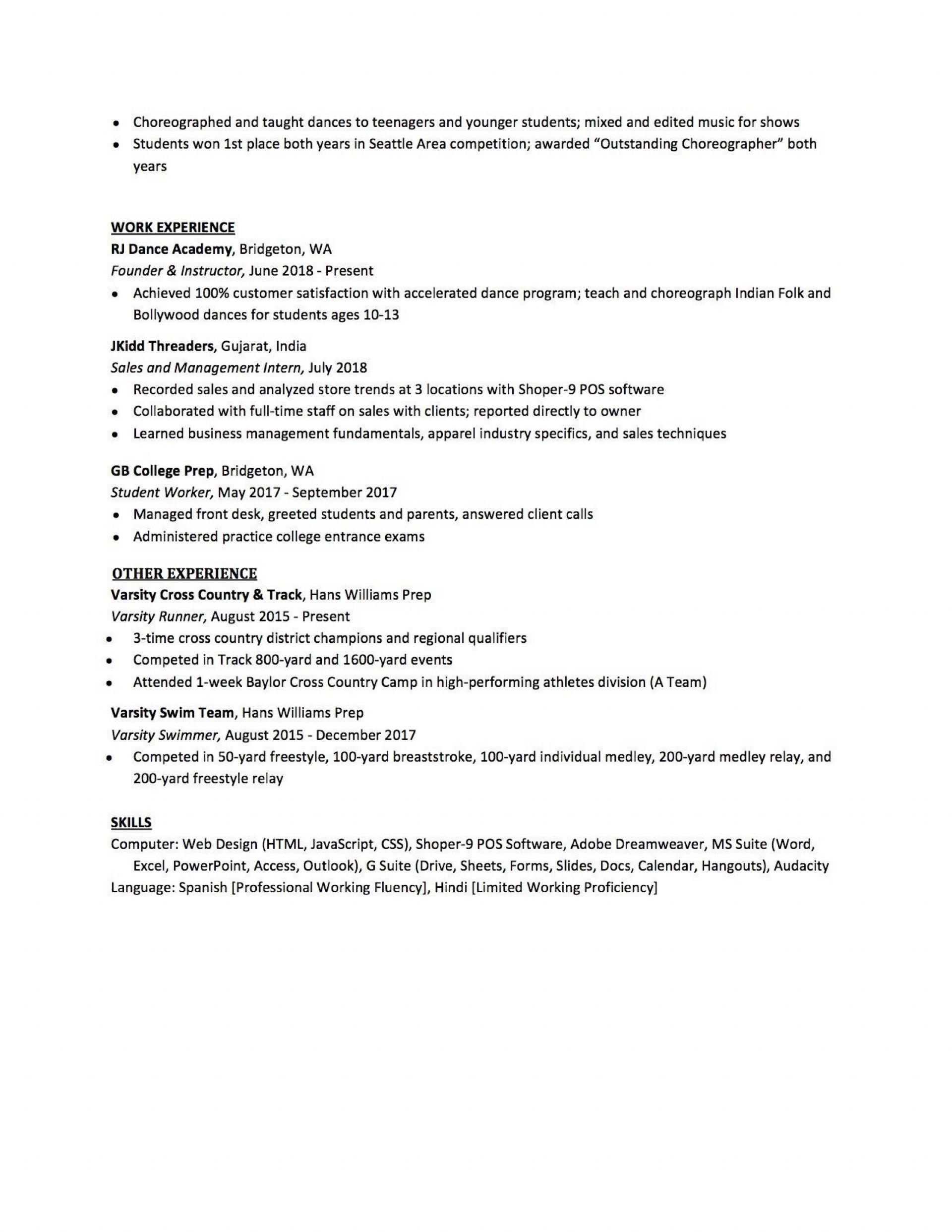 007 Sensational High School Student Resume Template Design  Free Microsoft Word 20101920