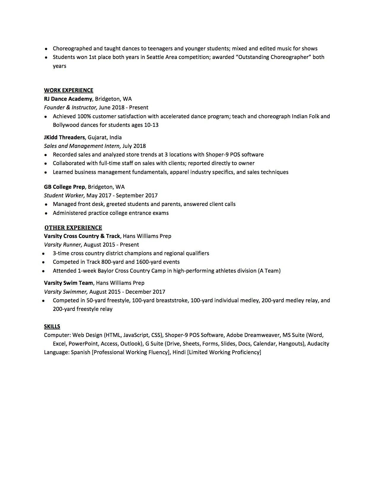 007 Sensational High School Student Resume Template Design  Free Microsoft Word 2010Full