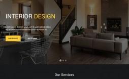 007 Sensational Interior Design Html Template Free Idea  Download