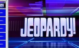 007 Sensational Jeopardy Template Google Slide Example  Slides Board Blank Best