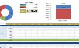 007 Sensational Personal Expense Spreadsheet Excel Template Sample  Monthly Budget