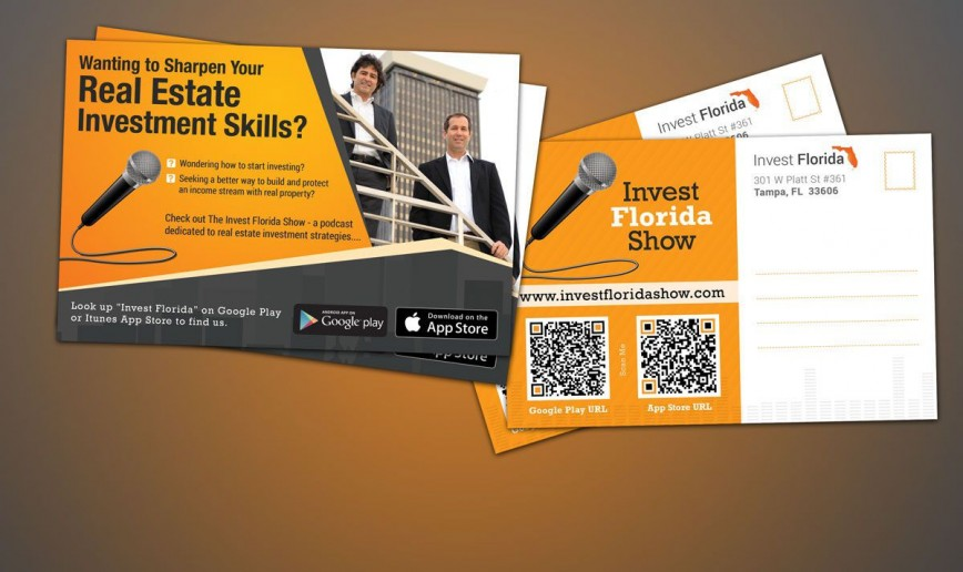 007 Sensational Real Estate Postcard Template Inspiration  Agent Free Microsoft Word Investor868