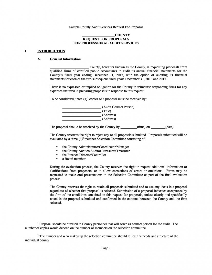 007 Sensational Request For Bid Template High Resolution  Proposal Doc Canada Sample