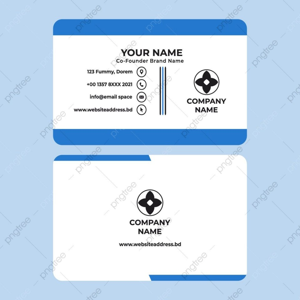 007 Sensational Simple Visiting Card Design Photo  Calling Busines Template Free In Photoshop960