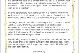 007 Sensational Teacher Welcome Letter Template Highest Quality  Preschool To Parent From Free