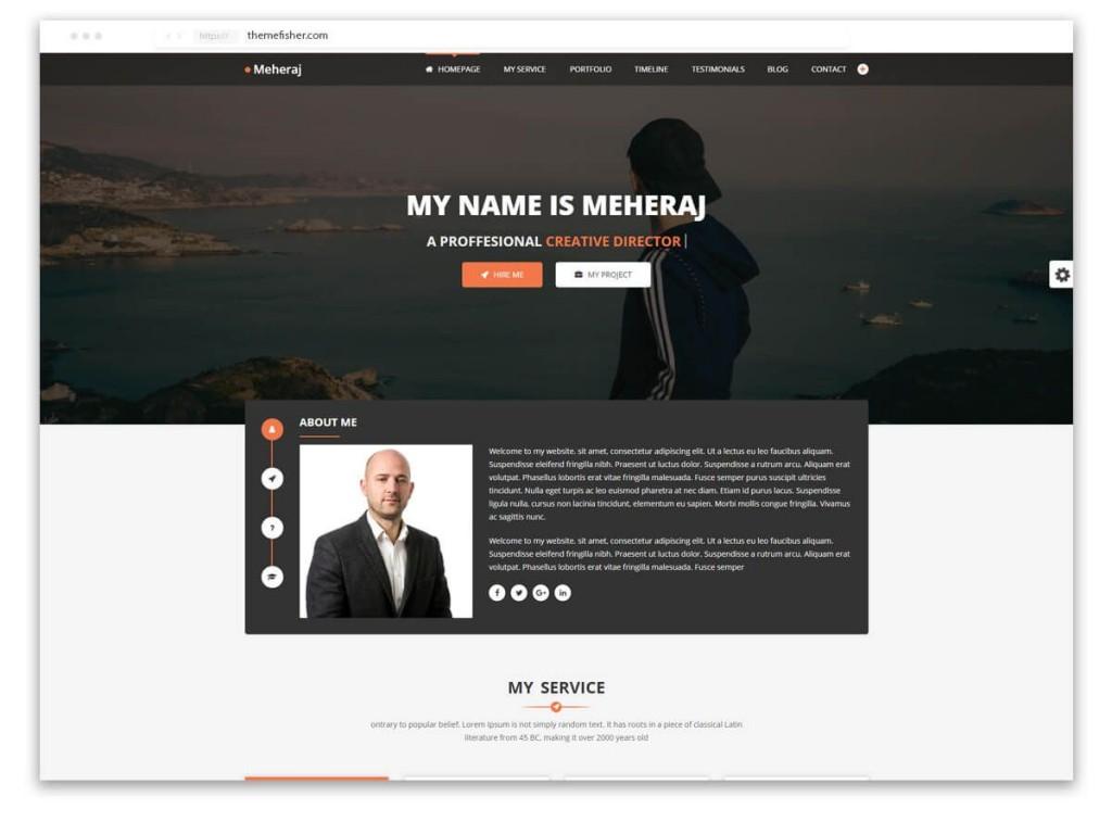 007 Sensational Web Developer Portfolio Template Highest Quality  Templates Best Design Theme Free WordpresLarge