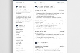 007 Sensational Word Resume Template Free Download Highest Quality  M Creative Curriculum Vitae Cv