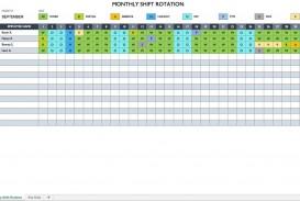 007 Sensational Work Schedule Format In Excel Download High Definition  Order Template Free