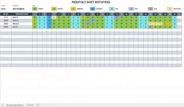 007 Sensational Work Schedule Format In Excel Download High Definition  Order Template Free360