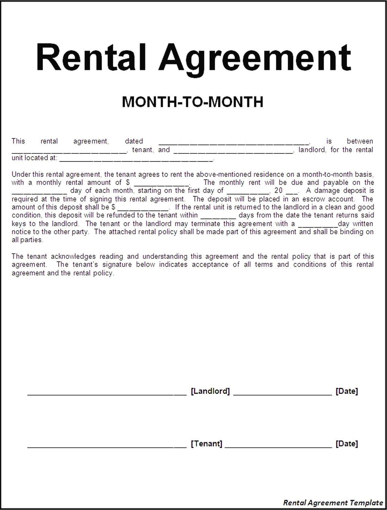 007 Shocking Apartment Rental Agreement Form High Def  Forms Lease Ontario Format SimpleFull