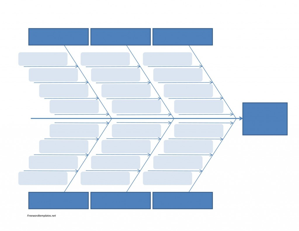 007 Shocking Blank Fishbone Diagram Template Image  Downloadable Word PdfLarge