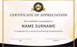007 Shocking Certificate Of Recognition Template Word Picture  Award Microsoft Free