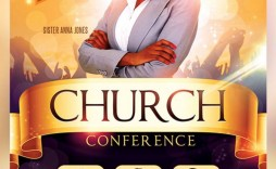 007 Shocking Church Flyer Template Free High Def  Easter Anniversary Conference Psd
