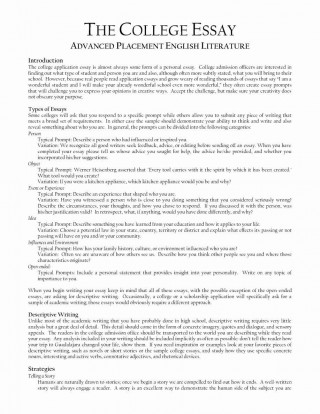 007 Shocking College Application Essay Outline Example Highest Clarity  Admission Format Heading Narrative Template320