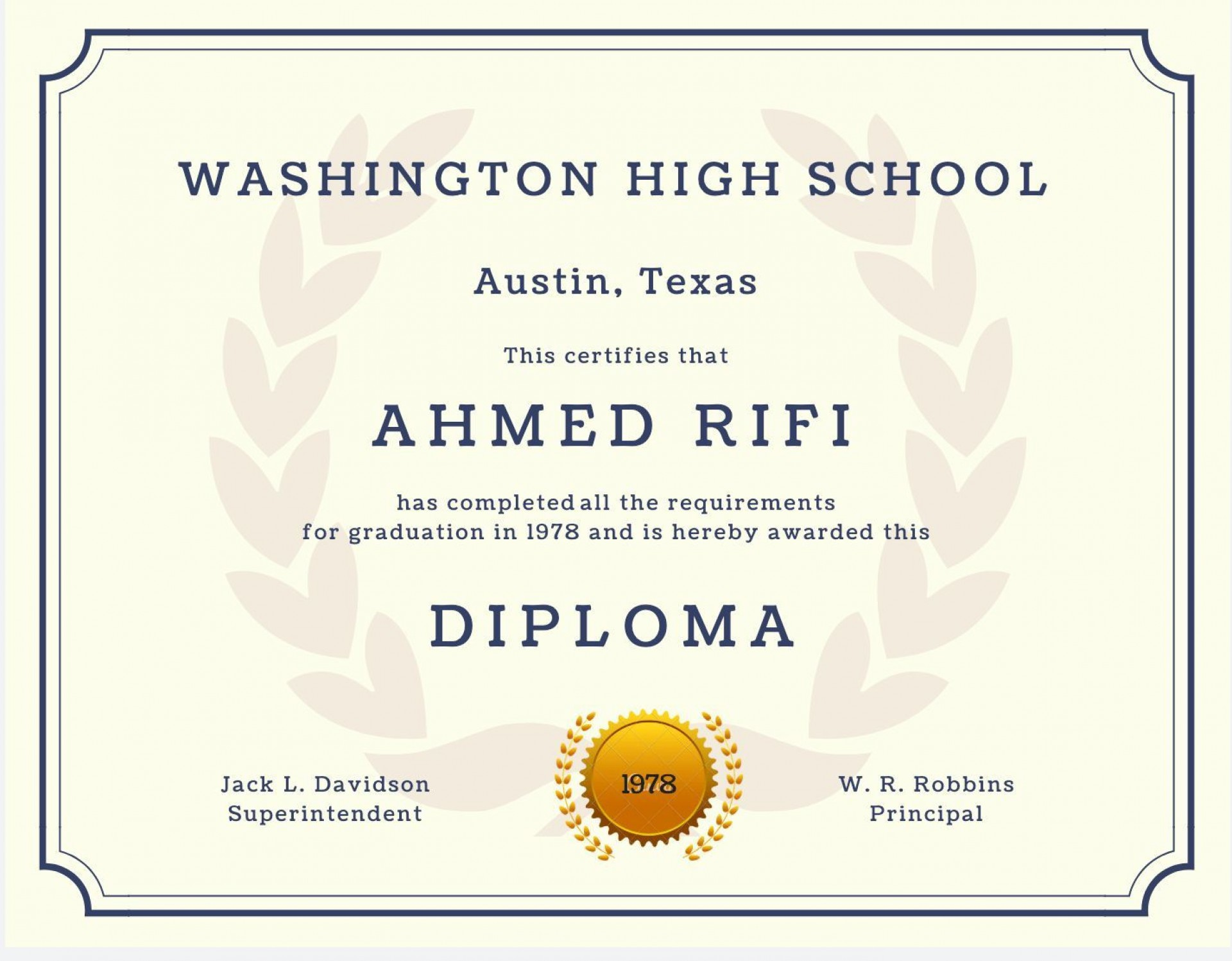 007 Shocking Free Printable High School Diploma Template Inspiration  With Seal1920