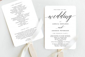 007 Shocking Free Template For Wedding Ceremony Program Picture
