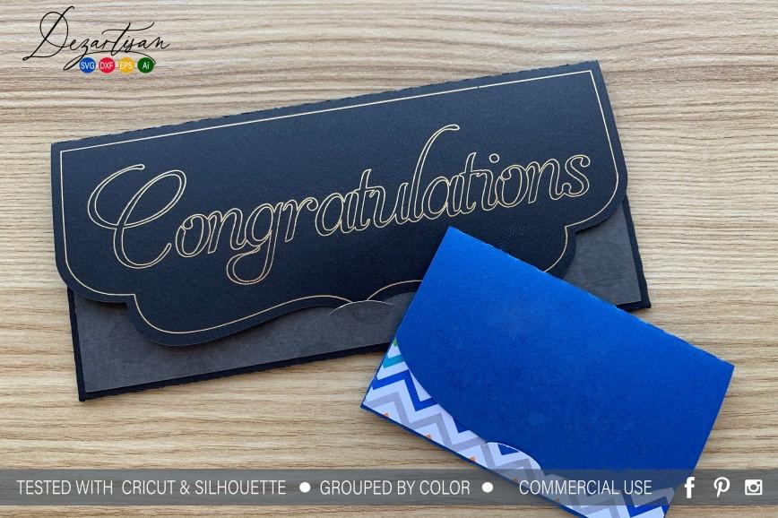 007 Shocking Gift Card Envelope Template Image  Templates Certificate Diy Printable