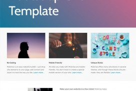 007 Shocking One Page Website Template Free Download Bootstrap Idea