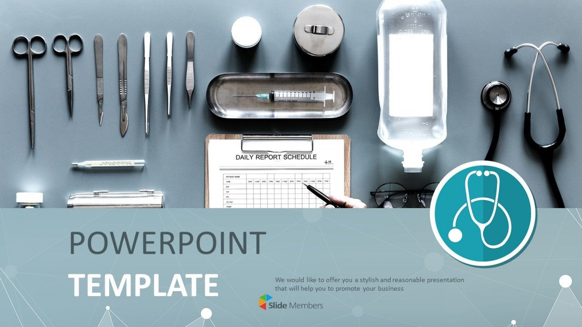 007 Shocking Powerpoint Presentation Template Free Download Medical Picture  Animated1920