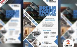 007 Shocking Real Estate Flyer Template Free Inspiration  Publisher Commercial Pdf Download