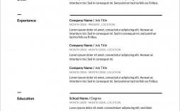 007 Shocking Resume Sample Free Download Doc Concept  For Fresher Pdf