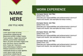 007 Shocking Resume Template M Word Free Idea  Modern Microsoft Download 2010 Cv With Picture