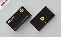 007 Shocking Simple Busines Card Template Psd Highest Quality  Design Minimalist Free Visiting In Photoshop