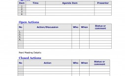 007 Shocking Staff Meeting Agenda Template Inspiration  Pdf Free
